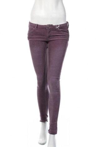 Γυναικείο κοτλέ παντελόνι Alcott, Μέγεθος M, Χρώμα Βιολετί, 97% βαμβάκι, 3% ελαστάνη, Τιμή 23,97€