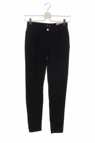 Дамски джинси Jennyfer, Размер XXS, Цвят Черен, 99% памук, 1% еластан, Цена 14,75лв.