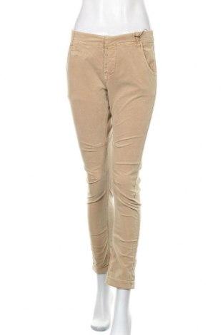Дамски джинси Kaporal, Размер S, Цвят Бежов, 98% памук, 2% еластан, Цена 18,69лв.