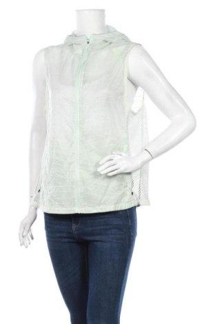 Дамски елек Adidas, Размер L, Цвят Зелен, 100% полиамид, Цена 35,28лв.