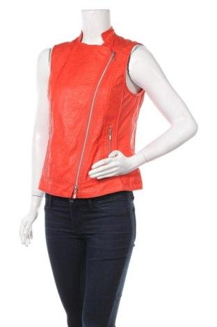 Дамски елек Bonita, Размер S, Цвят Оранжев, 100% полиестер, еко кожа, Цена 6,83лв.