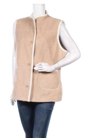 Дамски елек Gerry Weber, Размер XL, Цвят Бежов, Полиестер, Цена 31,19лв.