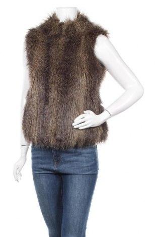 Дамски елек H&M, Размер XS, Цвят Кафяв, 54% модал, 29% акрил, 17% полиестер, Цена 26,78лв.