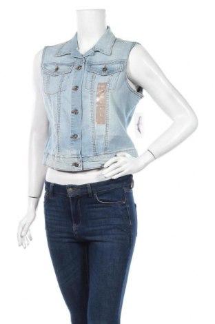 Дамски елек Jessica Simpson, Размер L, Цвят Син, 99% памук, 1% еластан, Цена 18,90лв.