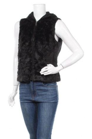 Дамски елек Simple Wish, Размер S, Цвят Черен, 60% вълна, 20% вискоза, 20% полиестер, Цена 19,11лв.