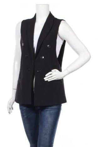 Дамски елек Zara, Размер M, Цвят Черен, Цена 25,88лв.