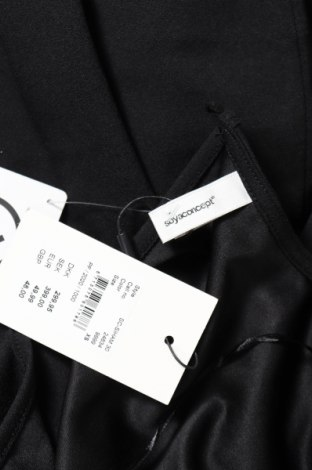 Дамски гащеризон Soya Concept, Размер XS, Цвят Черен, 95% полиестер, 5% еластан, Цена 30,96лв.