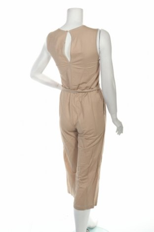 Дамски гащеризон Zara, Размер S, Цвят Бежов, 53% вискоза, 47% полиамид, Цена 44,25лв.