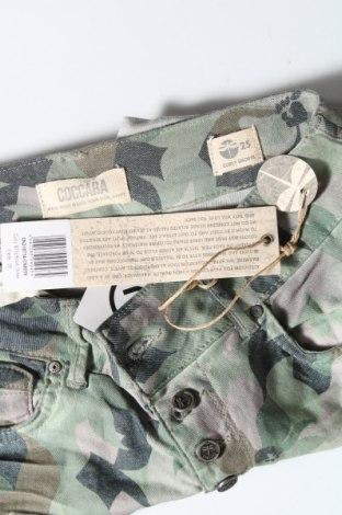 Γυναικείο κοντό παντελόνι, Μέγεθος S, Χρώμα Πράσινο, 69% βαμβάκι, 29% πολυεστέρας, 2% ελαστάνη, Τιμή 7,92€
