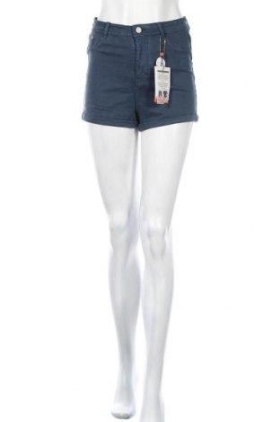 Γυναικείο κοντό παντελόνι Alcott, Μέγεθος S, Χρώμα Μπλέ, 98% βαμβάκι, 2% ελαστάνη, Τιμή 17,97€