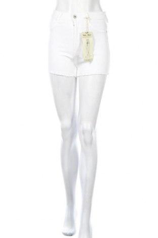 Γυναικείο κοντό παντελόνι Alcott, Μέγεθος S, Χρώμα Λευκό, 98% βαμβάκι, 2% ελαστάνη, Τιμή 17,97€