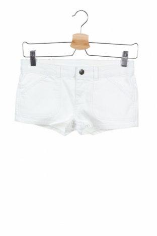 Γυναικείο κοντό παντελόνι Buffalo, Μέγεθος XS, Χρώμα Λευκό, 98% βαμβάκι, 2% ελαστάνη, Τιμή 10,38€