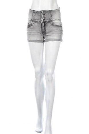 Γυναικείο κοντό παντελόνι City Chic, Μέγεθος S, Χρώμα Γκρί, 68% βαμβάκι, 27% πολυεστέρας, 3% βισκόζη, 2% ελαστάνη, Τιμή 13,11€