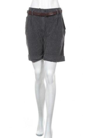 Γυναικείο κοντό παντελόνι Floyd By Smith, Μέγεθος M, Χρώμα Γκρί, 97% βαμβάκι, 3% ελαστάνη, Τιμή 20,46€