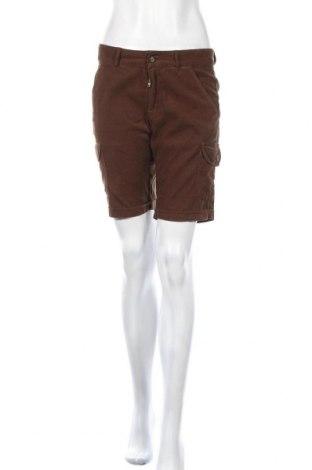 Pantaloni scurți de femei Le Phare De La Baleine, Mărime M, Culoare Maro, Bumbac, Preț 25,90 Lei