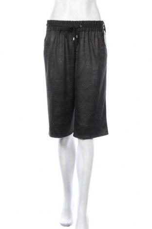 Дамски къс панталон Silvian Heach, Размер S, Цвят Черен, Полиуретан, Цена 27,72лв.