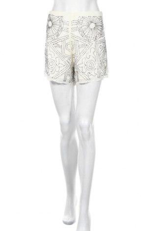 Γυναικείο κοντό παντελόνι True Decadence, Μέγεθος M, Χρώμα Λευκό, Βισκόζη, Τιμή 12,36€