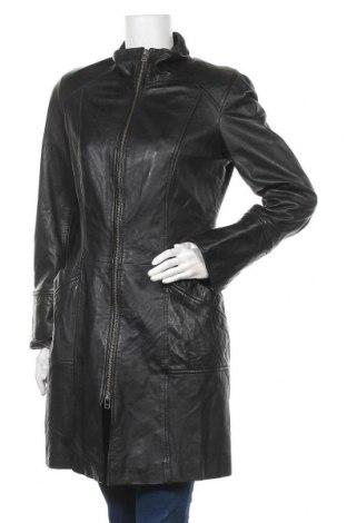 Дамско кожено яке Danier, Размер S, Цвят Черен, Естествена кожа, Цена 66,68лв.