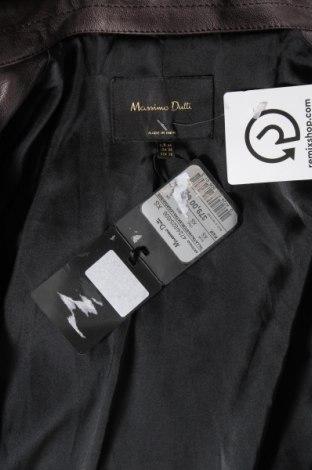 Γυναικεία δερμάτινη καμπαρντίνα Massimo Dutti, Μέγεθος XS, Χρώμα Καφέ, Γνήσιο δέρμα, Τιμή 154,25€