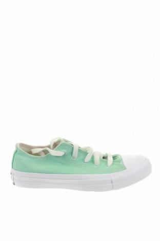 Γυναικεία παπούτσια Converse, Μέγεθος 35, Χρώμα Πράσινο, Κλωστοϋφαντουργικά προϊόντα, Τιμή 26,38€