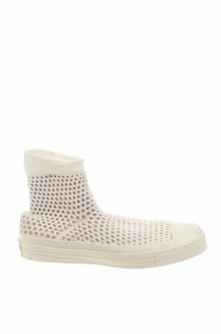 Γυναικεία παπούτσια Converse, Μέγεθος 42, Χρώμα Εκρού, Κλωστοϋφαντουργικά προϊόντα, Τιμή 33,02€