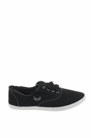 Γυναικεία παπούτσια Kaporal, Μέγεθος 38, Χρώμα Μαύρο, Κλωστοϋφαντουργικά προϊόντα, Τιμή 12,53€