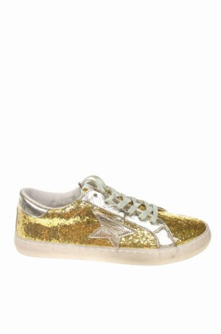 Γυναικεία παπούτσια Le Temps Des Cerises, Μέγεθος 40, Χρώμα Χρυσαφί, Κλωστοϋφαντουργικά προϊόντα, δερματίνη, Τιμή 23,97€