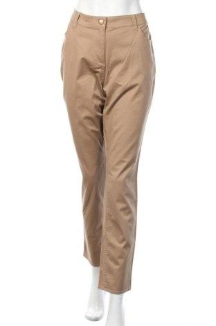 Дамски панталон, Размер M, Цвят Бежов, 98% памук, 2% еластан, Цена 19,60лв.