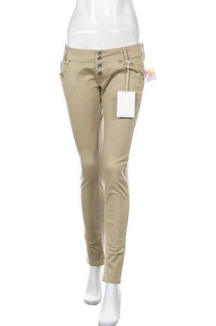 Γυναικείο παντελόνι Alcott, Μέγεθος M, Χρώμα  Μπέζ, 98% βαμβάκι, 2% ελαστάνη, Τιμή 6,96€