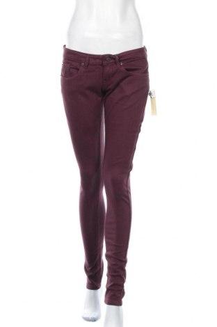 Γυναικείο παντελόνι Alcott, Μέγεθος M, Χρώμα Βιολετί, 97% βαμβάκι, 3% ελαστάνη, Τιμή 10,72€