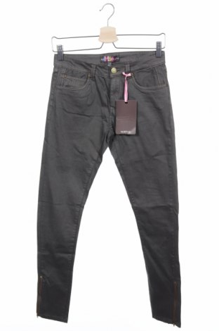 Дамски панталон Alcott, Размер S, Цвят Сив, 97% памук, 3% еластан, Цена 16,74лв.