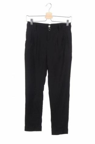 Дамски панталон Bershka, Размер XXS, Цвят Черен, Полиестер, Цена 15,96лв.
