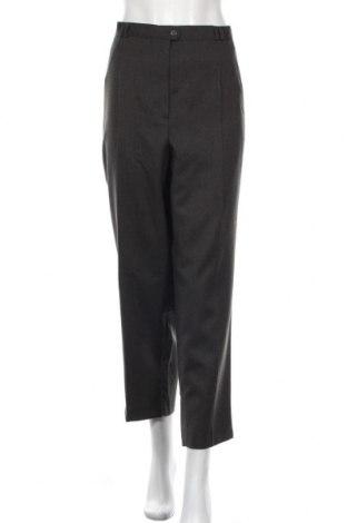 Дамски панталон C&A, Размер XXL, Цвят Сив, Вълна, Цена 38,90лв.
