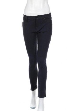 Дамски панталон Calvin Klein Jeans, Размер M, Цвят Син, 65% вискоза, 29% полиамид, 6% еластан, Цена 48,95лв.