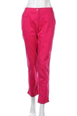 Дамски панталон Camaieu, Размер L, Цвят Розов, 98% памук, 2% еластан, Цена 17,16лв.