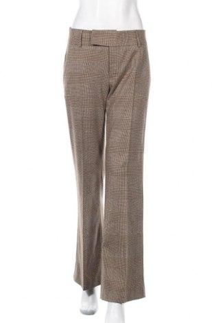 Дамски панталон Carla F., Размер S, Цвят Кафяв, 59% полиестер, 24% вискоза, 14% вълна, 3% еластан, Цена 6,30лв.