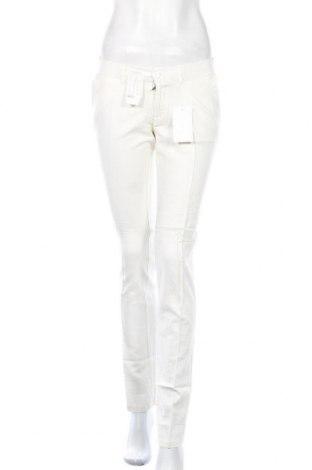 Дамски панталон Colline, Размер XS, Цвят Бял, 55% памук, 45% лен, Цена 34,50лв.