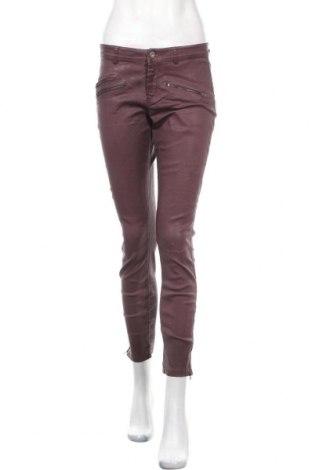 Дамски панталон Et Compagnie by Women dept, Размер M, Цвят Лилав, 98% памук, 2% еластан, Цена 24,00лв.