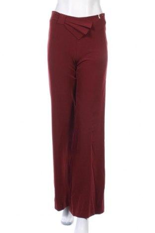 Дамски панталон Gaudi, Размер S, Цвят Червен, 89% полиестер, 11% еластан, Цена 39,75лв.