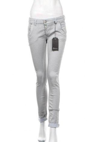 Дамски панталон Glucksstern, Размер M, Цвят Син, 95% памук, 5% еластан, Цена 19,84лв.