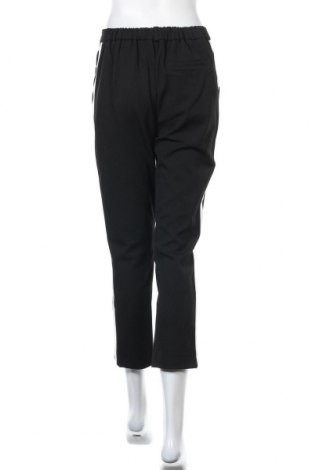 Дамски панталон Guido Maria Kretschmer, Размер M, Цвят Черен, 62% полиестер, 33% вискоза, 5% еластан, Цена 26,82лв.