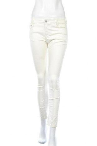 Дамски панталон Huit Six Sept by Women dept, Размер M, Цвят Бежов, 64% памук, 31% полиестер, 5% еластан, Цена 17,20лв.