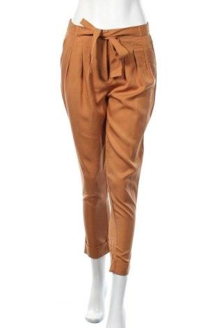 Дамски панталон Irl, Размер S, Цвят Кафяв, Лиосел, Цена 24,80лв.