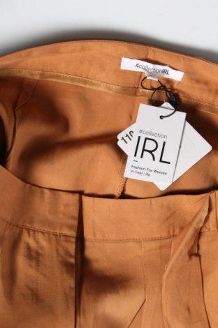 Дамски панталон Irl, Размер M, Цвят Кафяв, Лиосел, Цена 27,90лв.