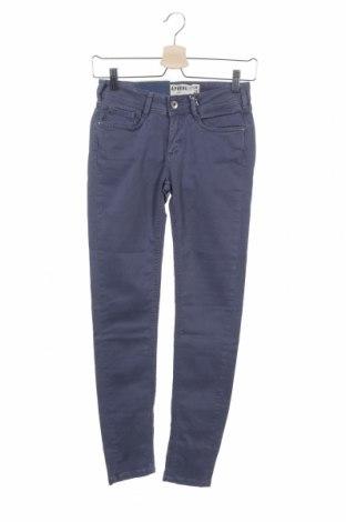 Дамски панталон Kaporal, Размер XS, Цвят Сив, 98% памук, 2% еластан, Цена 17,80лв.