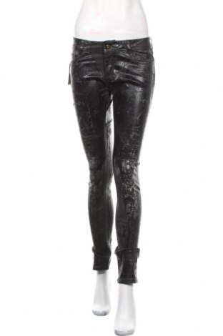 Γυναικείο παντελόνι Kaporal, Μέγεθος M, Χρώμα Μαύρο, 97% βαμβάκι, 3% ελαστάνη, Τιμή 18,32€