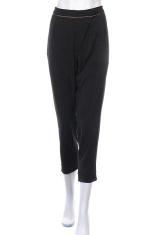 Дамски панталон La Mode Est A Vous, Размер M, Цвят Черен, Полиестер, Цена 15,36лв.