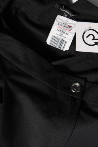 Дамски панталон La Mode Est A Vous, Размер L, Цвят Черен, 75% полиестер, 21% вискоза, 4% еластан, Цена 38,70лв.