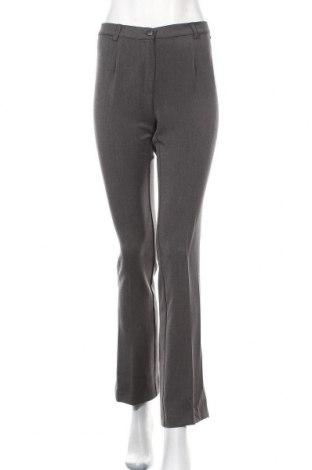 Дамски панталон Le Phare De La Baleine, Размер M, Цвят Сив, 70% полиестер, 24% вискоза, 6% еластан, Цена 19,20лв.