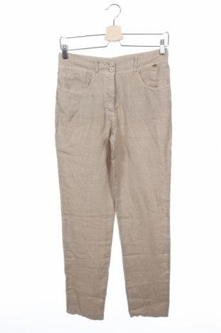 Pantaloni de femei Le Phare De La Baleine, Mărime S, Culoare Bej, In, Preț 32,35 Lei